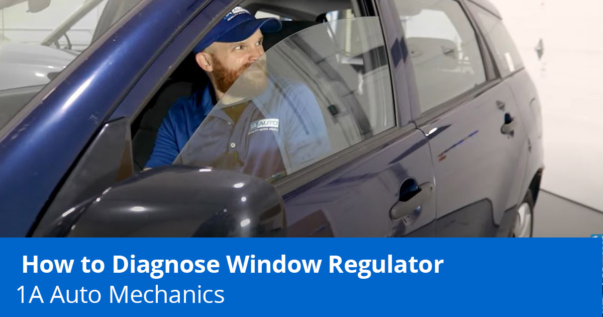 Mechanic testing a loose car window - Car Window Rattling