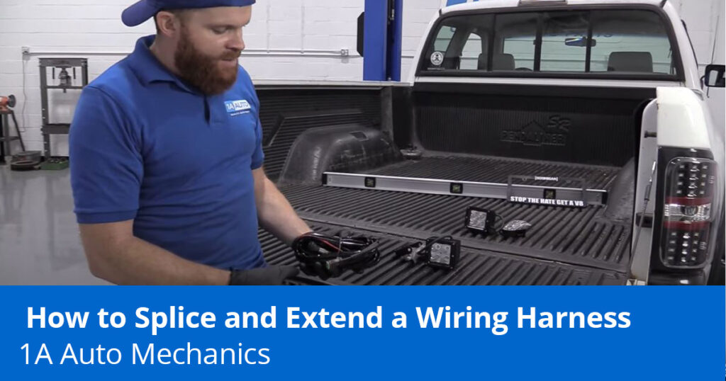 how to splice wires in a car or truck