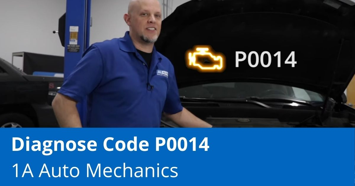 Check Engine Light Is On With Code P0014