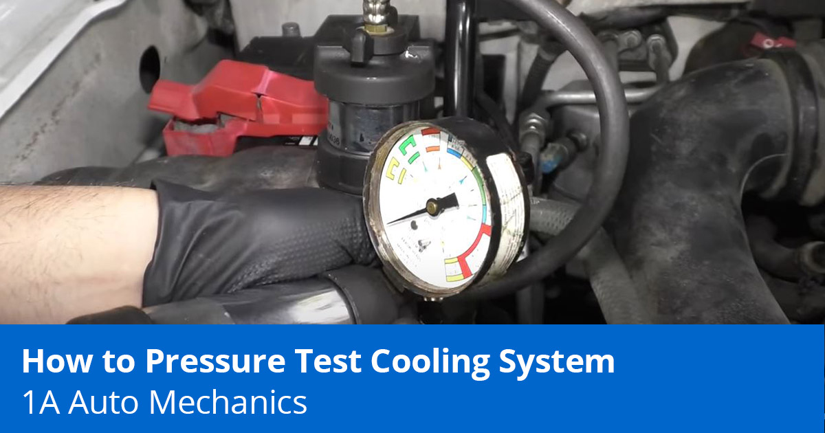 Radiator Pressure Test   How to Pressure Test Your Car's Cooling System