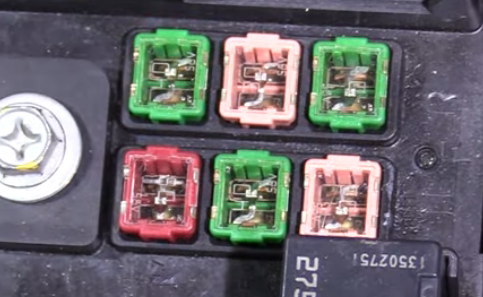 30 amp power liftgate fuse on a 2012 Chevy Traverse