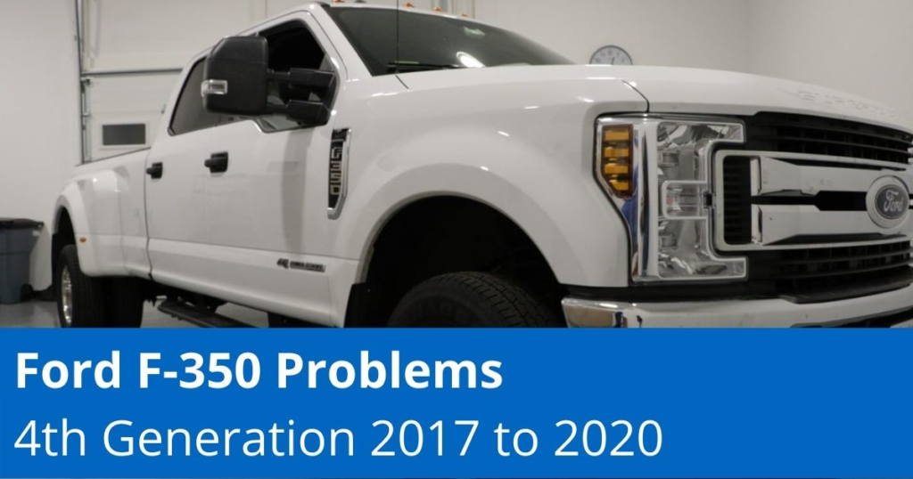 Ford F-350 Problems