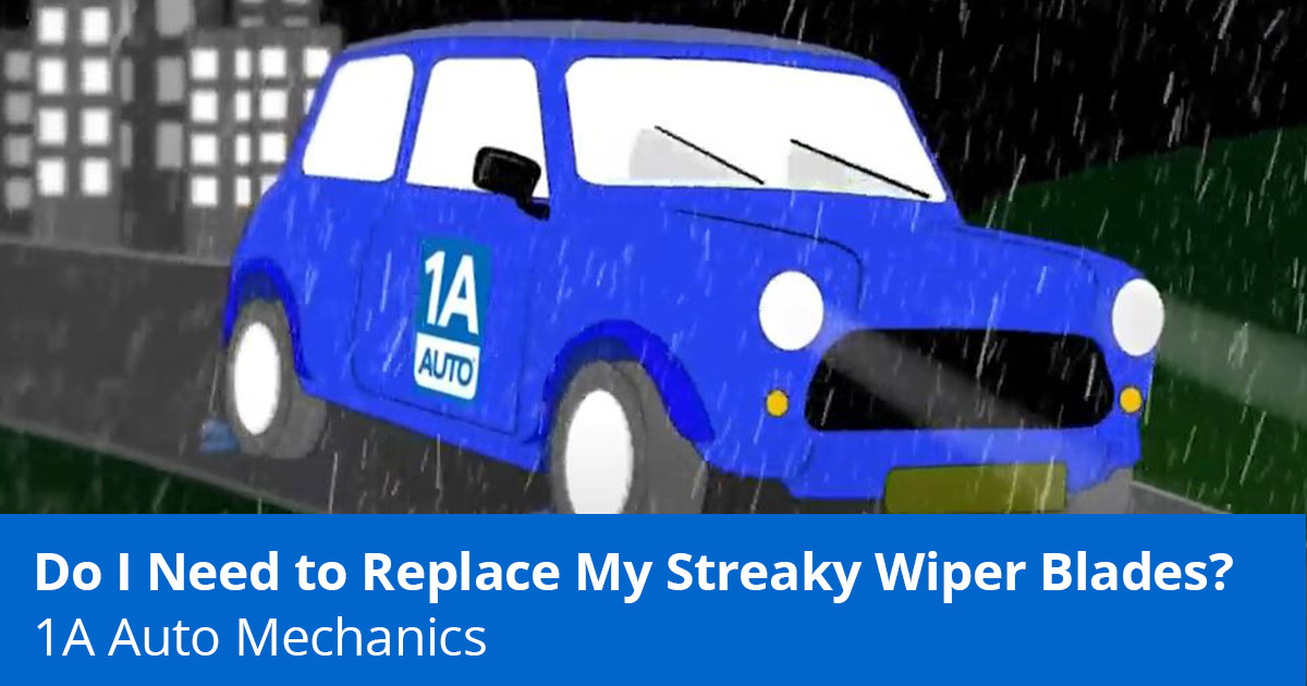 How to Fix Skipping, Split, Streaky, or Squeaky Windshield Wipers