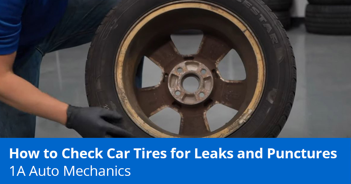 Slow Leak in Tire? How to Find and Fix Tire Leaks