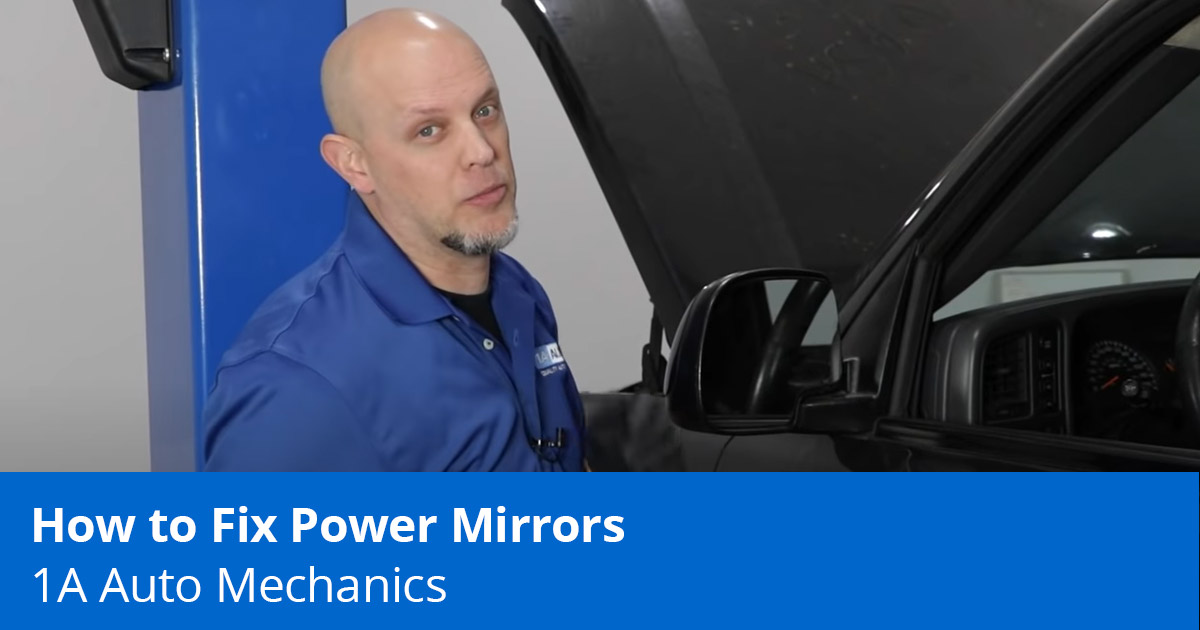 Learn How to Fix Power Mirrors