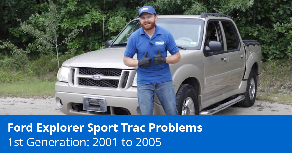 Common Ford Explorer Sport Trac Problems | 2001 to 2005