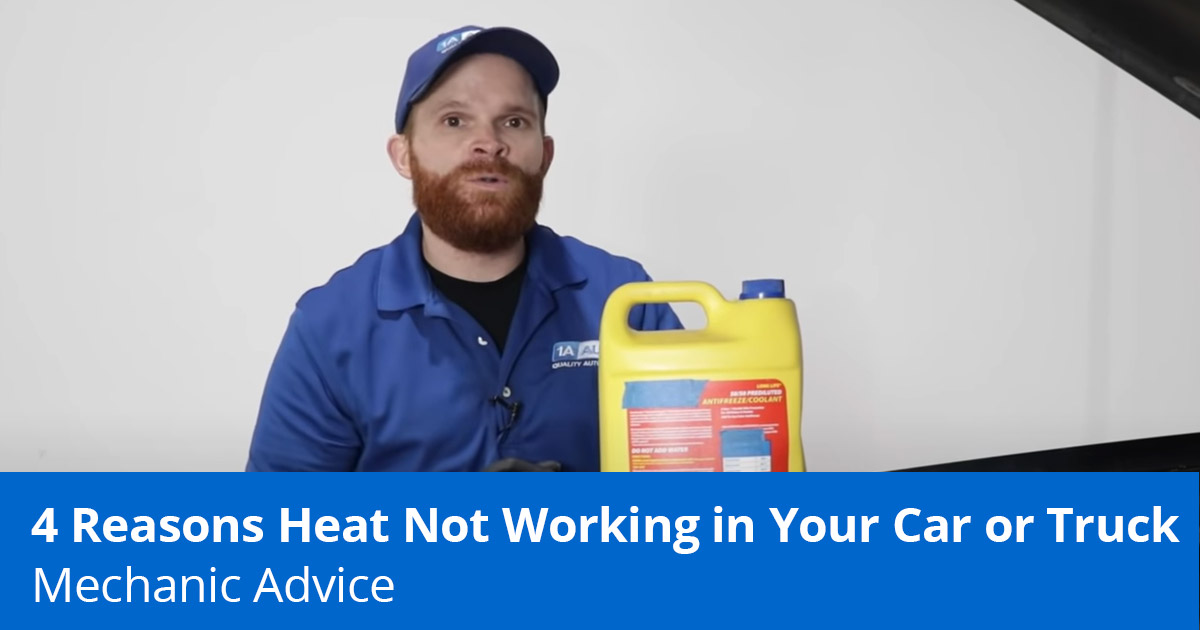 4 Reasons Heat Not Working in Car   Diagnose & Fix