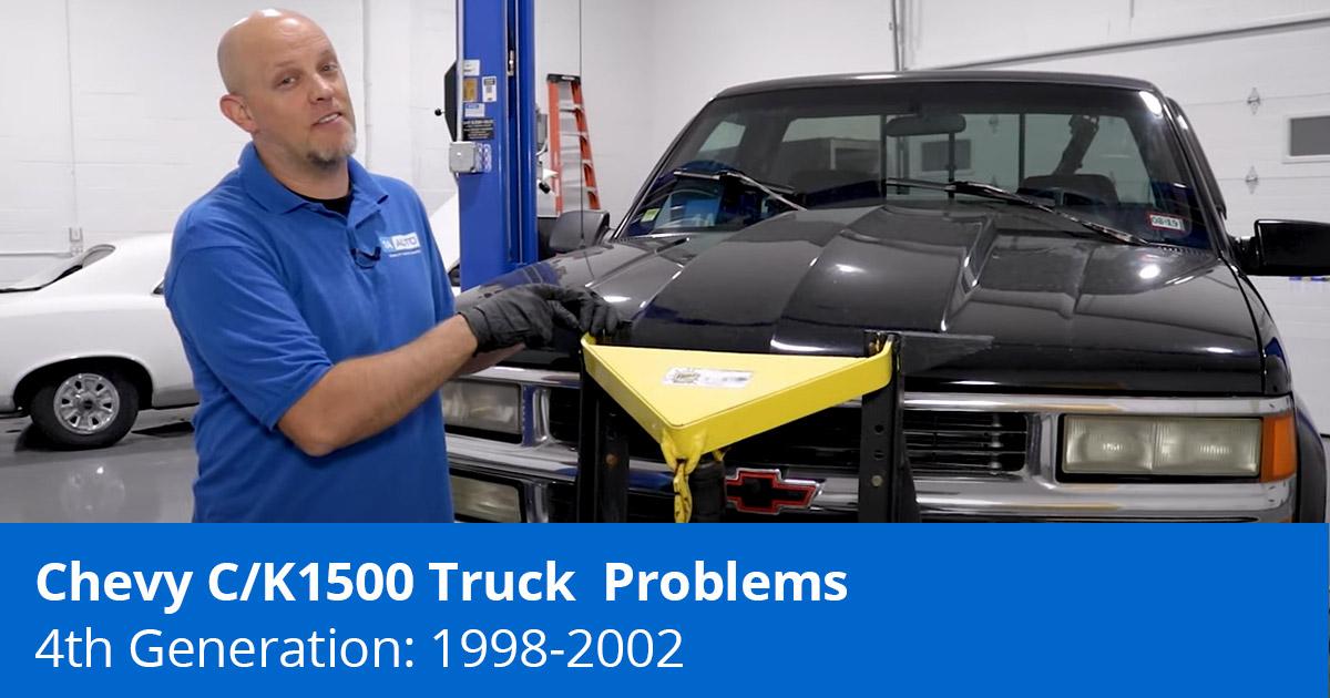4th Gen Chevy Truck Problems   Chevy C/K Trucks (1988-2002)