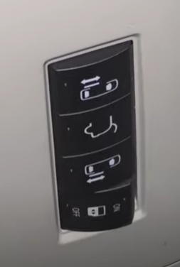 Automatic door function button turned off