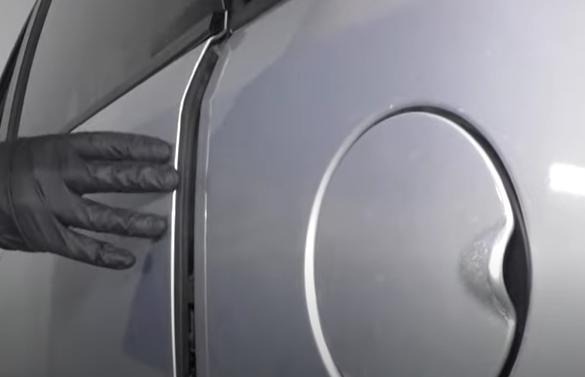Automatic door stuck open