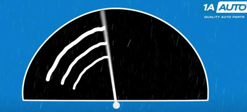 Streaky windshield wiper blade