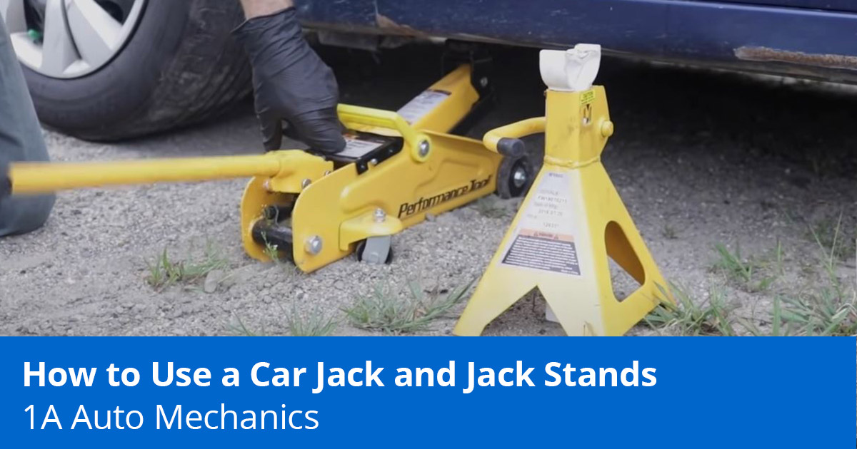 How to Use a Car Jack and Jack Stands | Where to Put Jack Stands