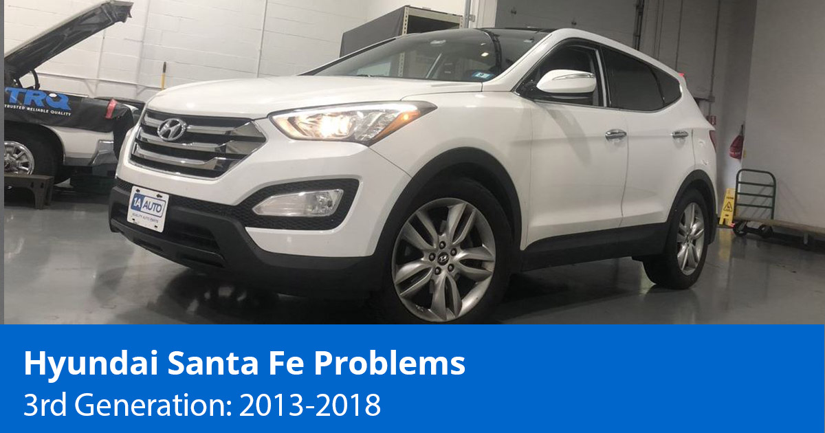 Common Hyundai Santa Fe Problems   3rd Generation (2013 to 2018)