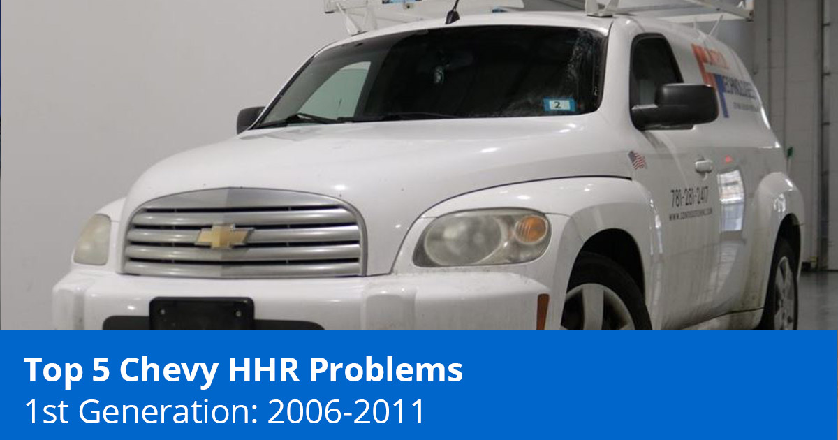 Top 5 Chevy HHR Problems - 1st Generation (2006-2011) - 1A Auto