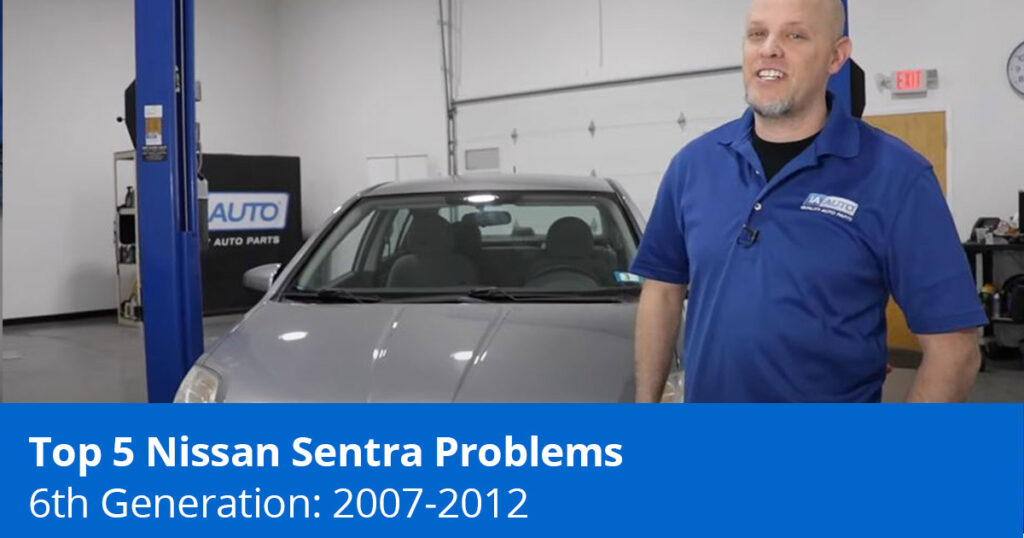 Mechanic before a 2007 to 2012 Nissan Sentra