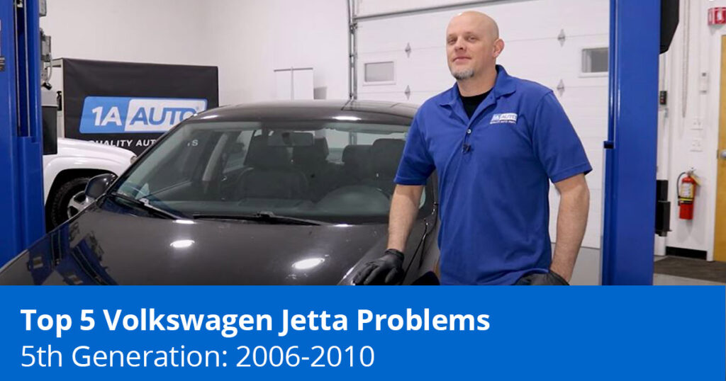 Mechanic showing Volkswagen Jetta Problems