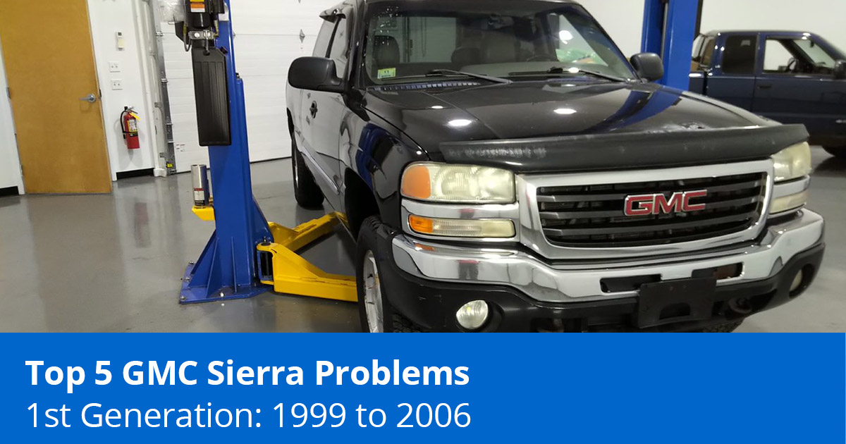 Top 5 GMC Sierra Problems - 1st Generation (1999 to 2006) - 1A Auto