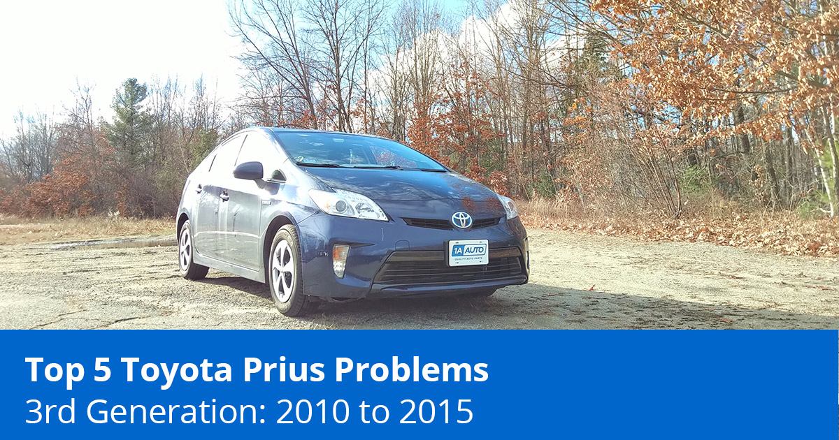 Top 5 Toyota Prius Problems - 3rd Generation (2010 to 2015) - 1A Auto