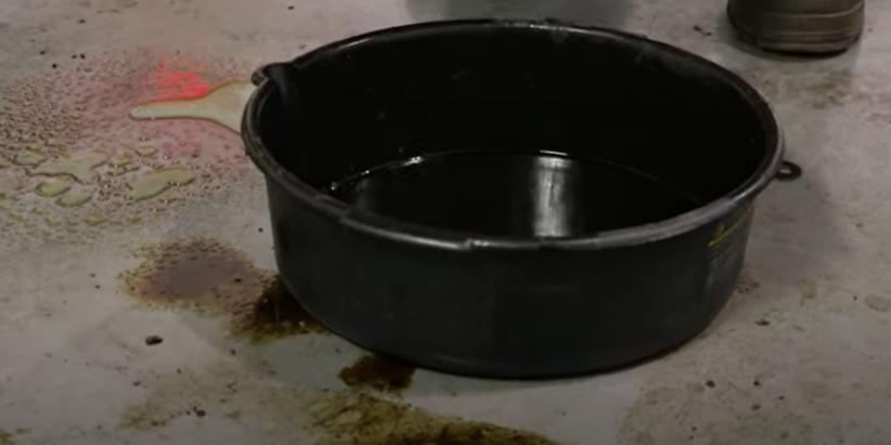 Smaller drain pan
