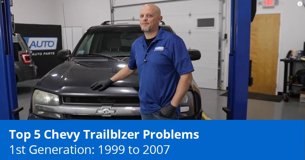 Top 5 Chevy Trailblazer Problems - 2002 to 2009 - 1A Auto