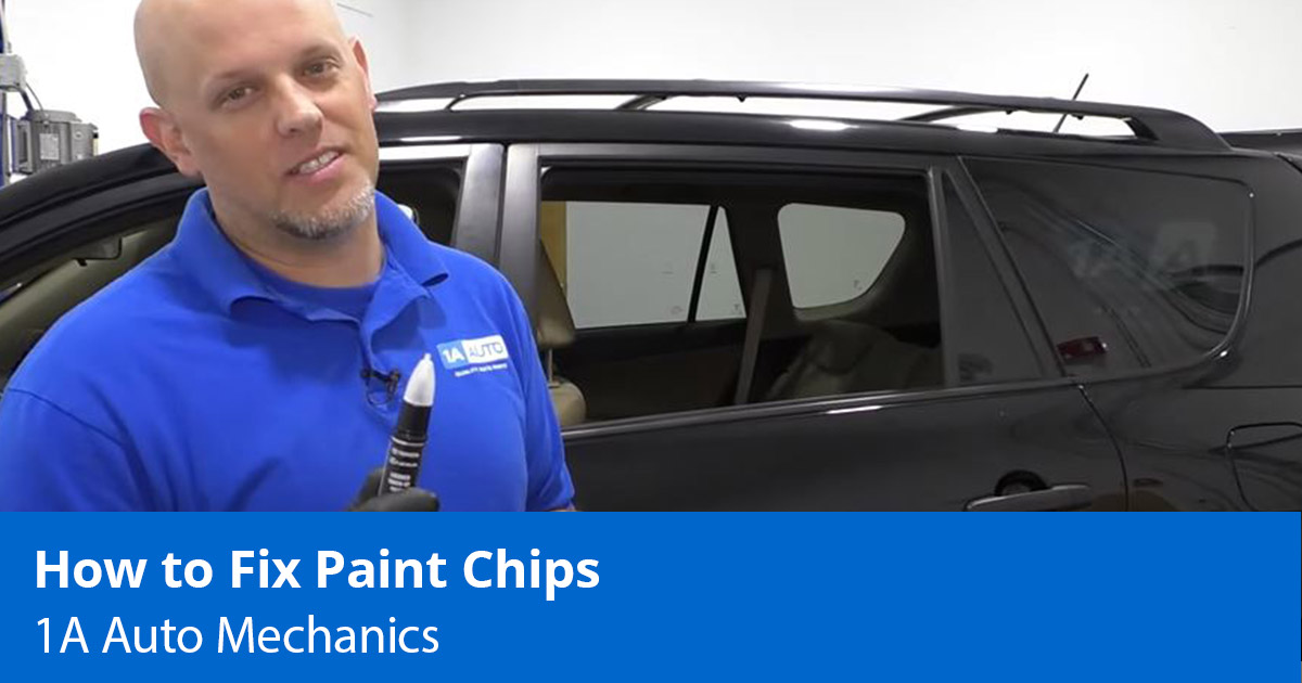 How to Fix Paint Chips on a Car, Truck, or SUV with Touch Up Paint