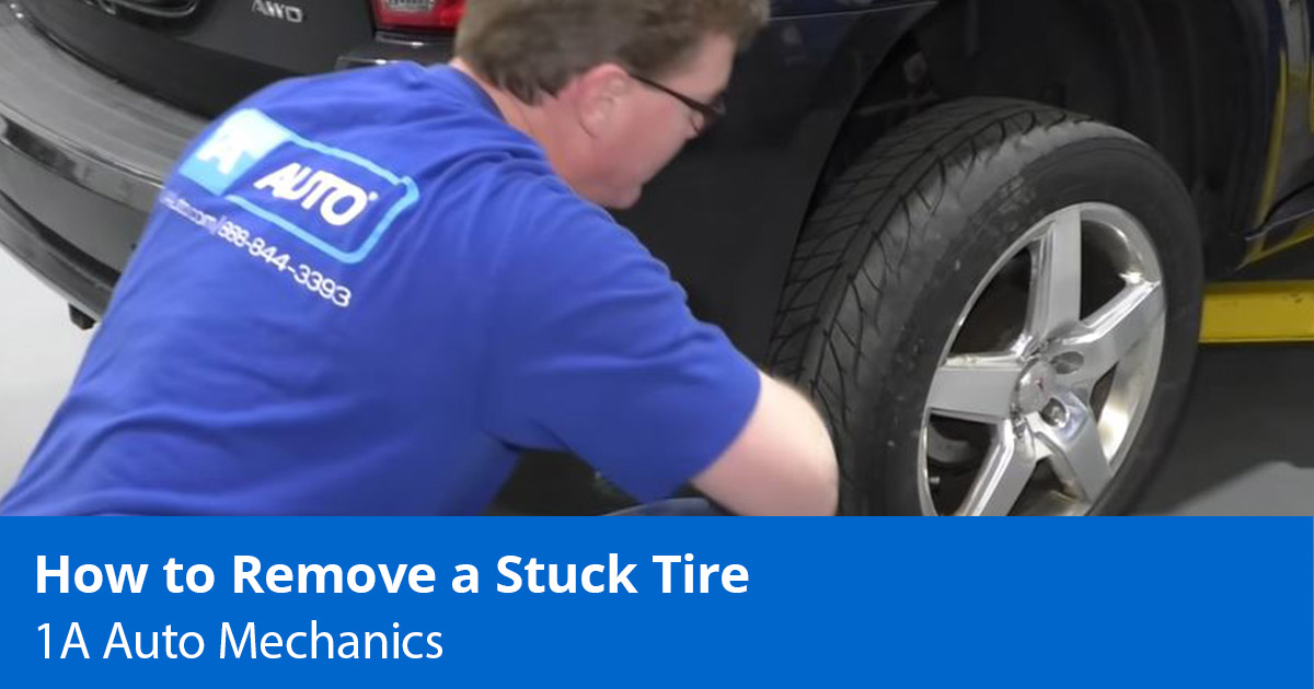 Can't Get a Stuck Tire Off? How to Remove a Stuck Tire - 1A Auto