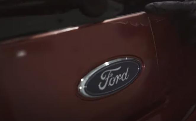 Cracked Exterior Rear Hatch Trim on a 3rd gen Ford Explorer