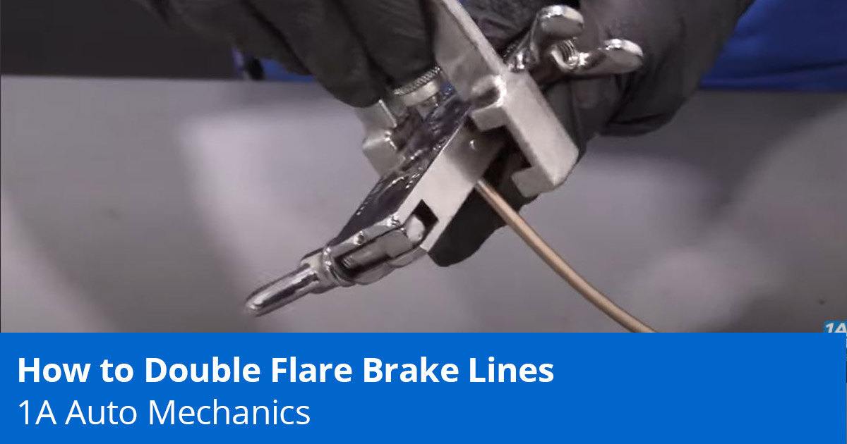 How to Double Flare Brake Lines - Expert Tips - 1A Auto