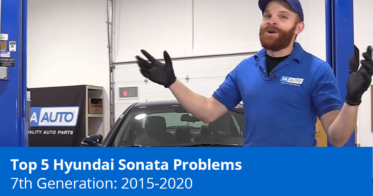 Top 5 Hyundai Sonata Problems - 7th Generation (2015 to 2020) - 1A Auto