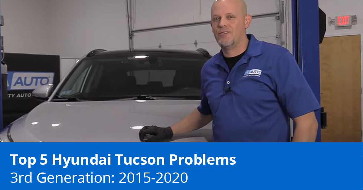 Top 5 Hyundai Tucson Problems - 3rd Generation (2015 to 2020) - 1A Auto