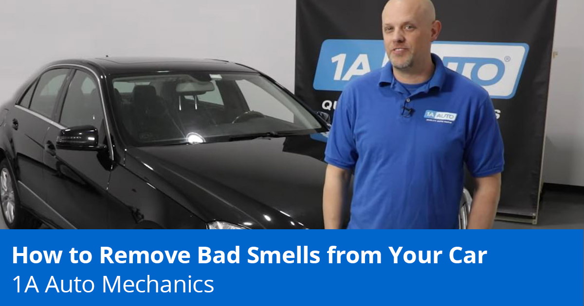 How to Get a Bad Smell Out of Your Car -  Remove Car Smells - 1A Auto