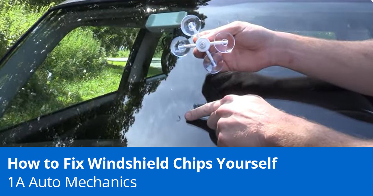 How to Fix Windshield Chips Yourself