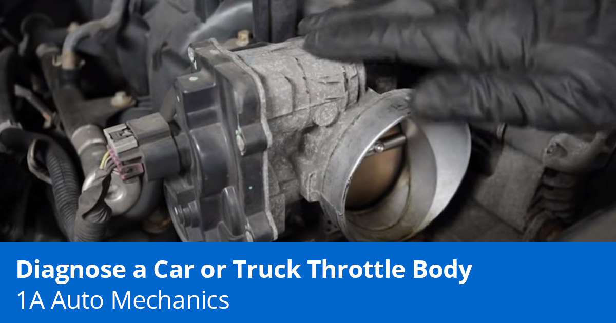 Rough Idle? Weak Acceleration? How to Diagnose and Clean a Throttle Body