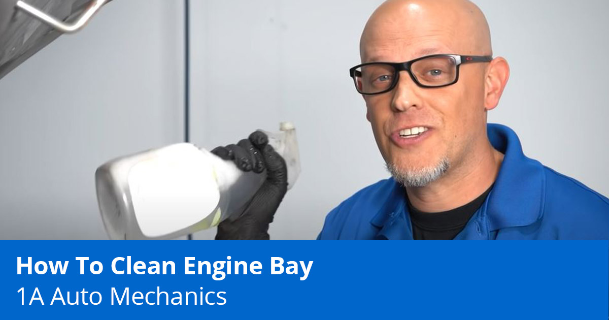 How to Clean an Engine Bay - Expert Advice - 1A Auto