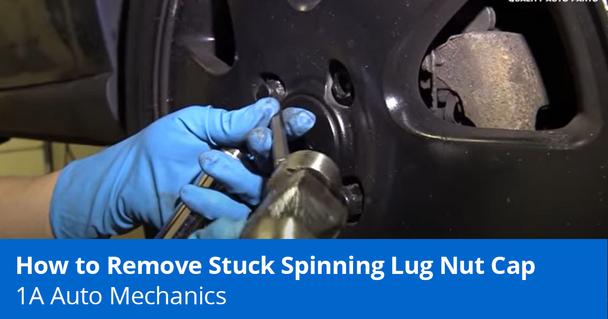 How to Remove a Stripped Lug Nut or Spinning Lug Nut Cap