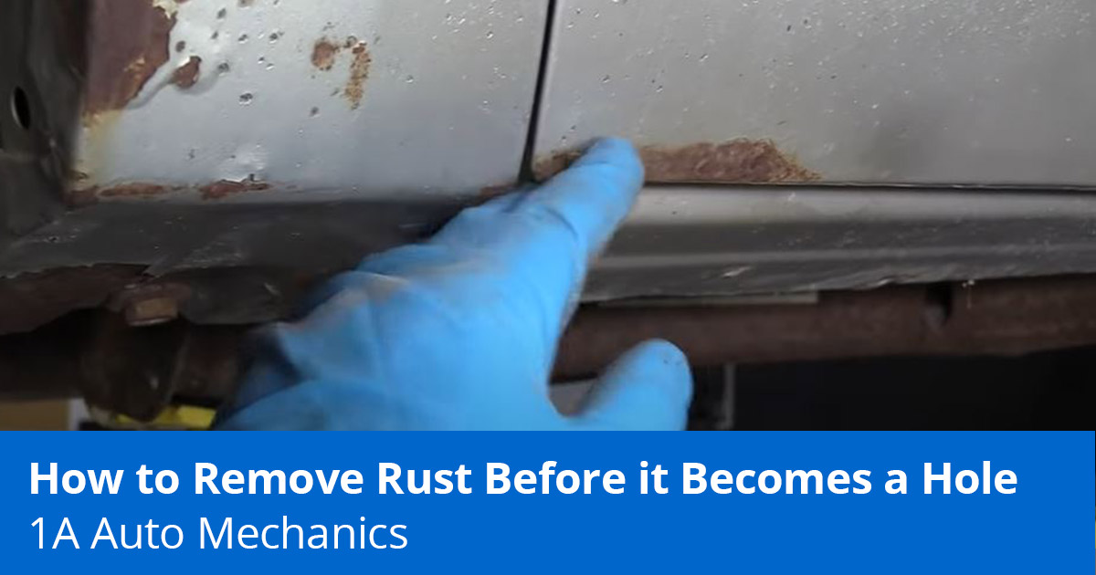How to Remove Rust from a Car