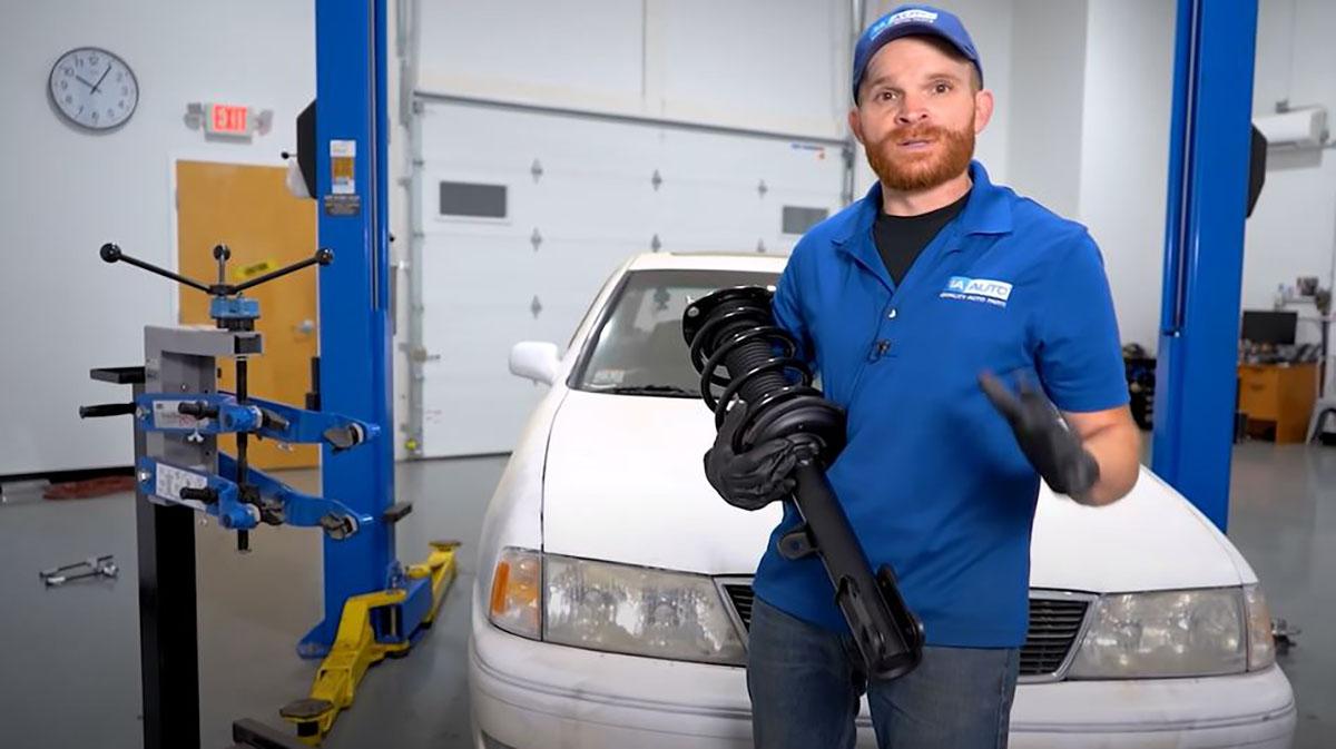 How to Install Struts Correctly - Strut Install Tips - Expert Advice - 1A Auto